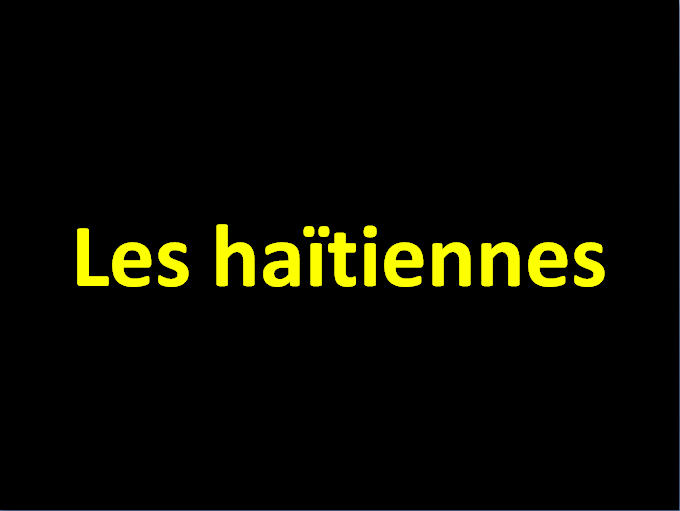 Les haïtiens 2015