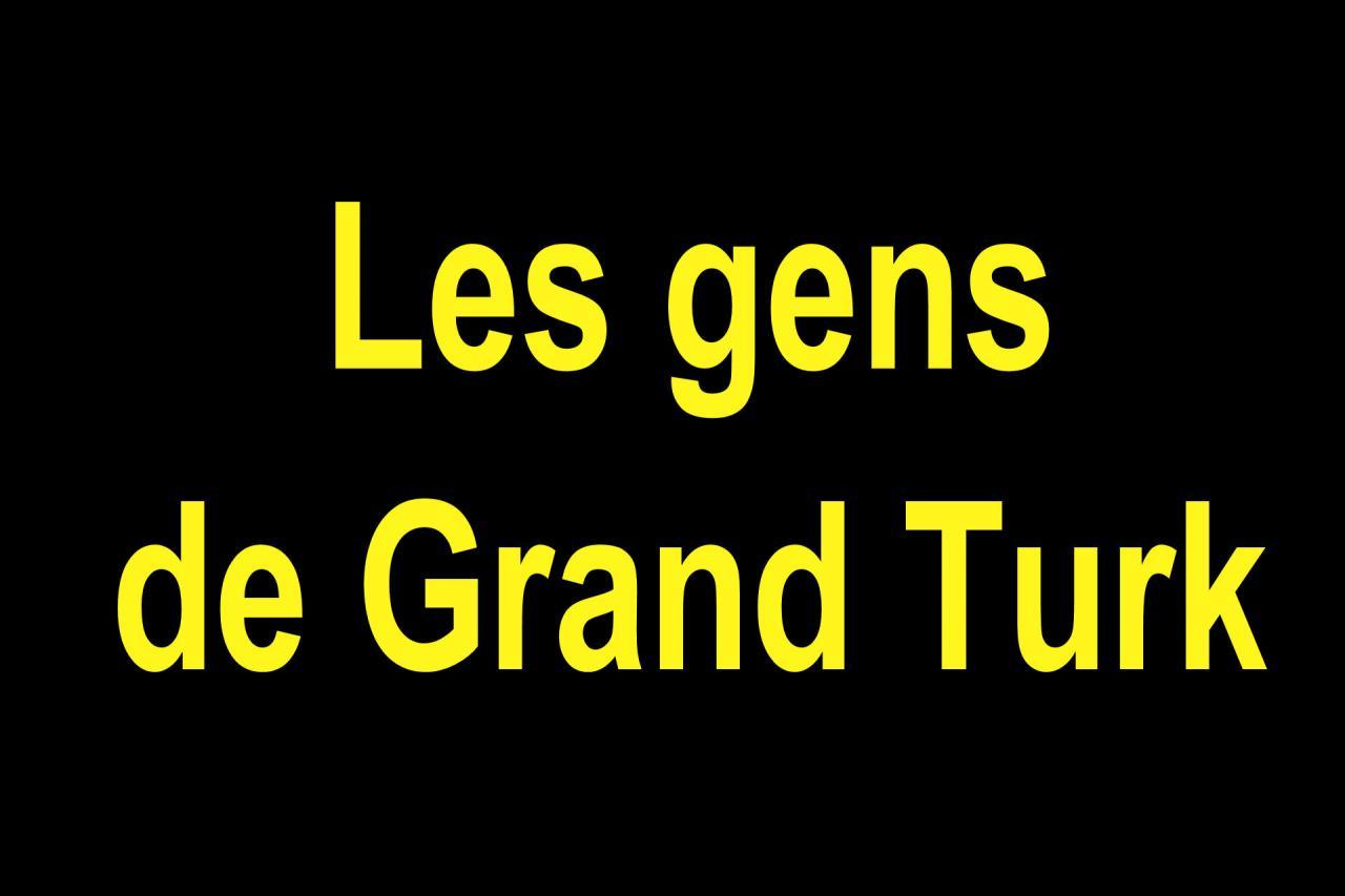 02 Les gens de Grande Turk