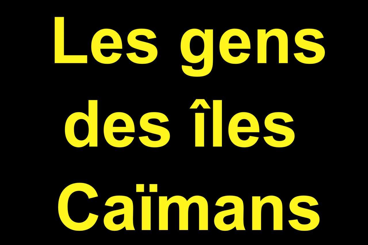 04 Les gens des Iles Caïmans