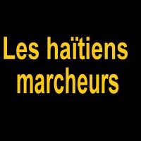 Intercalaires Les haïtiens marchant