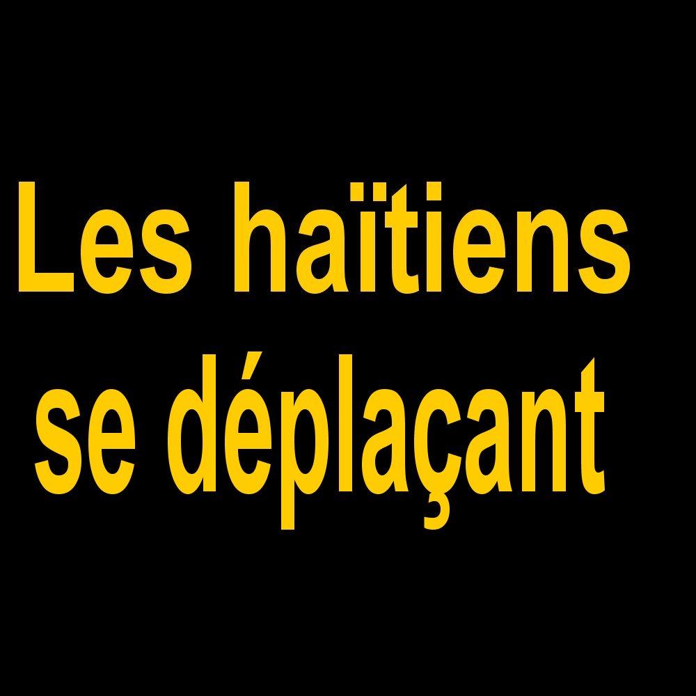 Intercalaires Les haïtiens se déplaçant