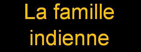 _La famille indienne
