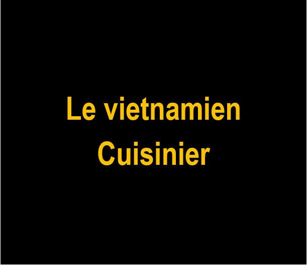 _Le vietnamien cuisinier