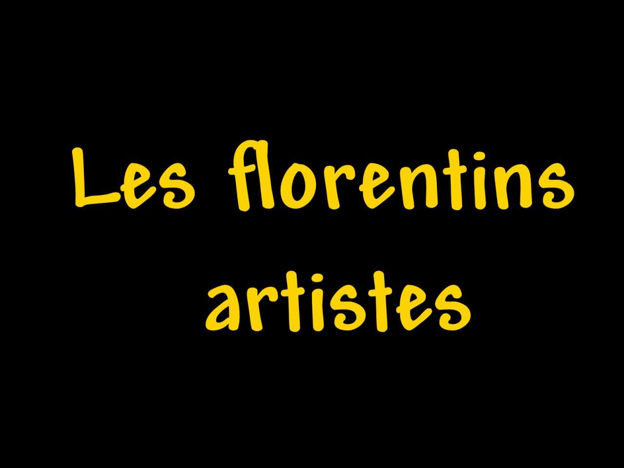 Les florentins