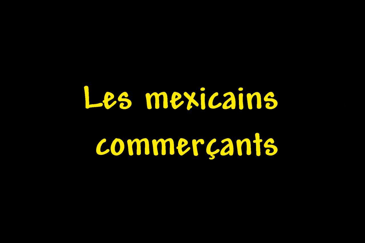 _Les mexicains commerçants Page intercalaire vierge