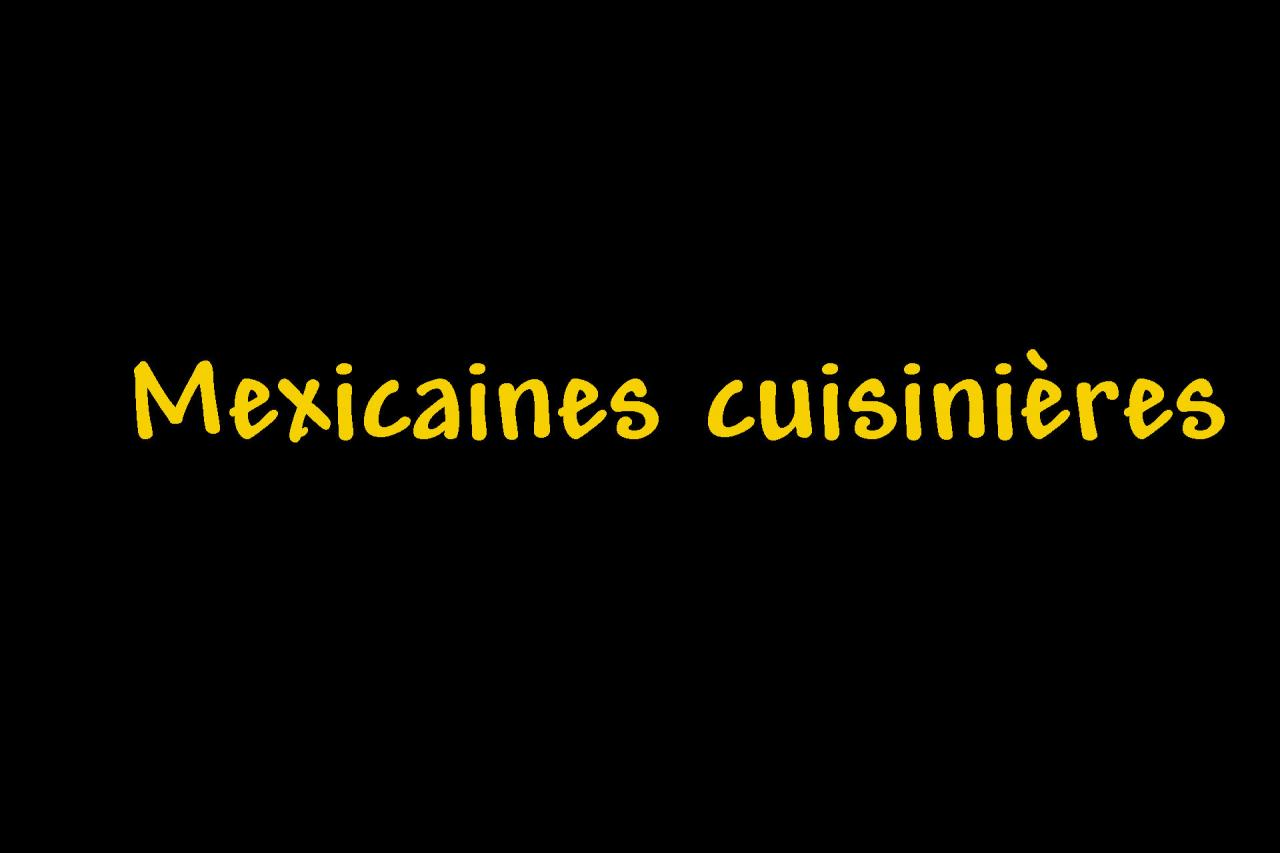 _Mexicaines cuisinières Page intercalaire vierge