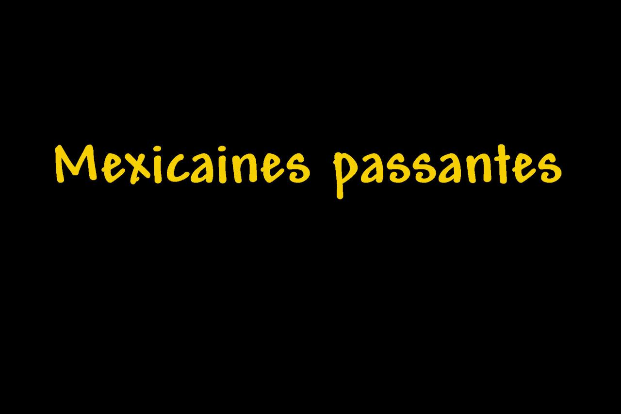 _Mexicaines passantes Page intercalaire vierge